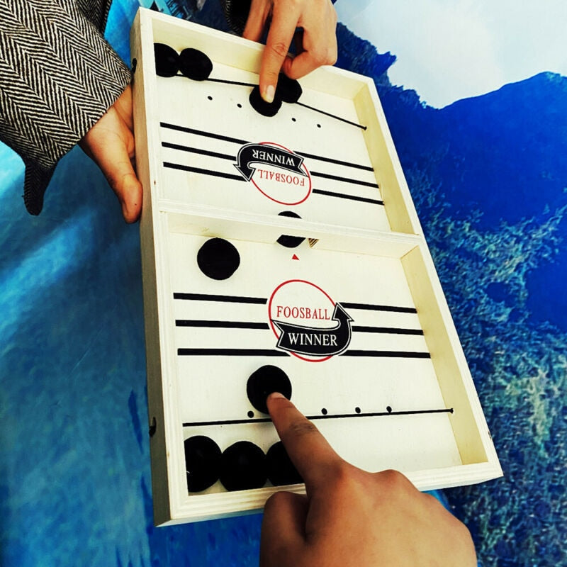 Funnyly Family Wooden Hockey Game|FREE SHIPPING ⭐️⭐️⭐️⭐️⭐️