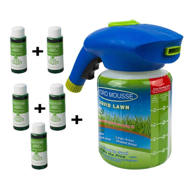 GREEN GRASS LAWN SPRAY(WITH 5 BOTTLE POTION)