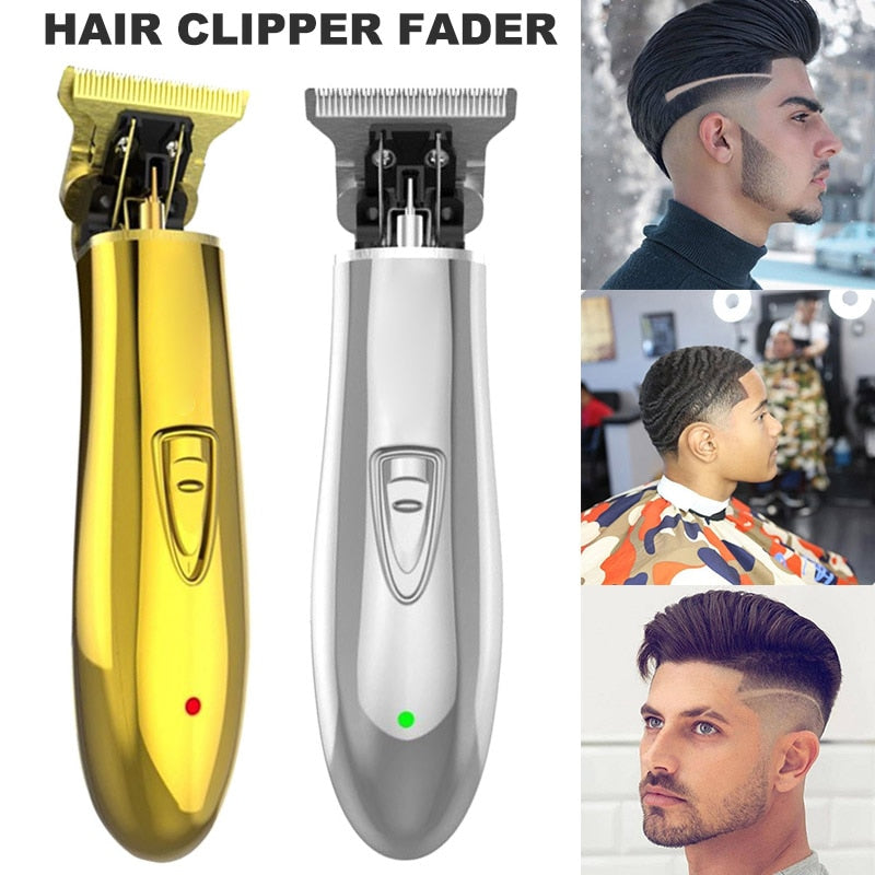 Dual-Voltage Rechargable Cordless Trimmer Men Baldheaded Hair Clipper