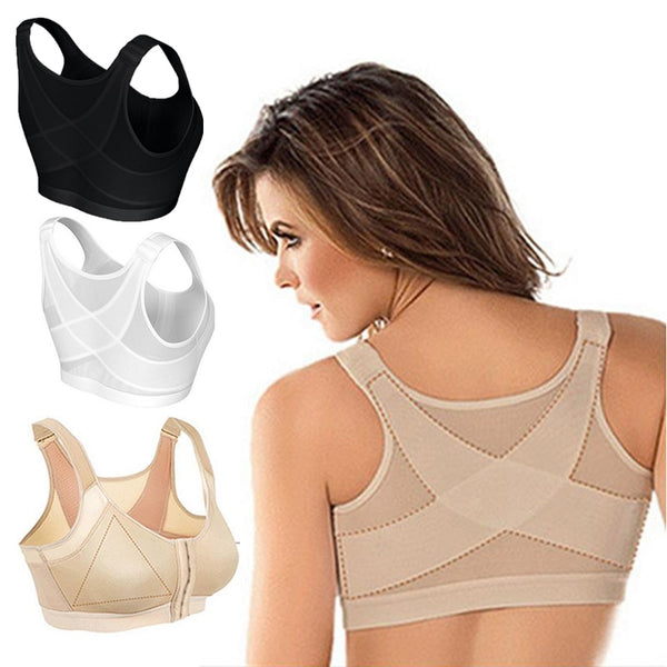 Seamless Front Buckle Support Bra[FREE SHIPPING]⭐️⭐️⭐️⭐️⭐️