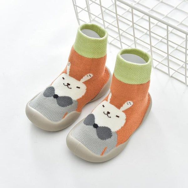 Autumn and Winter Cartoon Socks Shoes