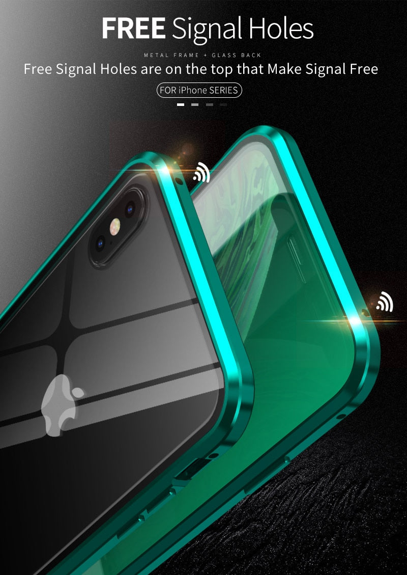 Iphone New Generation of Green Light Eye Protection Case