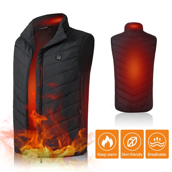 Unisex Warming Heated Vest[FREE SHIPPING]