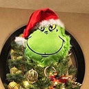 Furry Green Grinch Arm Ornament Holder for The Christmas Tree for Christmas Home Party d88