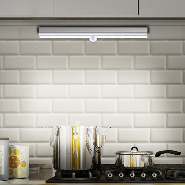 Motion sensor LED light under cabinet, magnetic strip wall light [FREE SHIPPING]