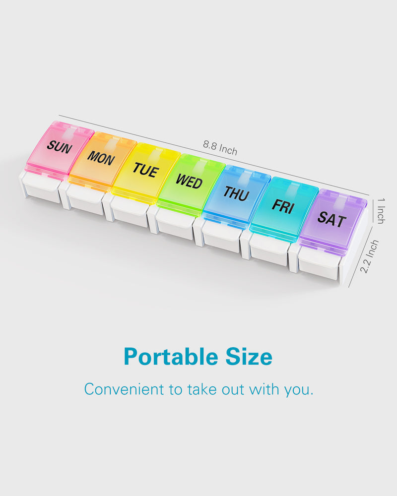 Easy to Open Pill Organizer