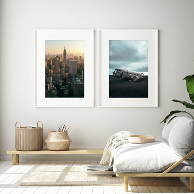 Concrete Jungle Prints - Set of 2 - Peter Yan Studio
