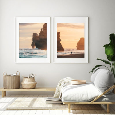 Gibson Steps Ocean Walk Prints - Set of 2 - Peter Yan Studio