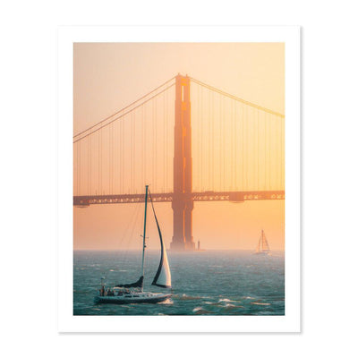 Golden Gate Golden Hour - Peter Yan Studio