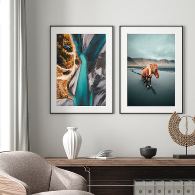 Iceland Beauty Prints - Set of 2 - Peter Yan Studio