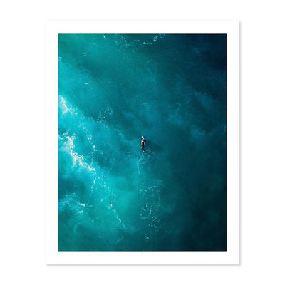 Lightning Surf | Photo Art Print Wall Art Print by Peter Yan.