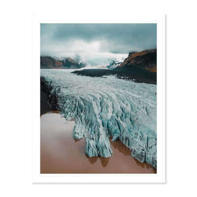 Magnificent glacier in Iceland - Peter Yan Studio