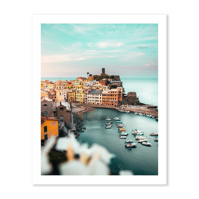 Vernazza, Cinque Terre | Photo Art Print Wall Art Print by Peter Yan.