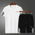 Quick Dry Gym Run Jogging Tracksuit-Leisure Sportwear