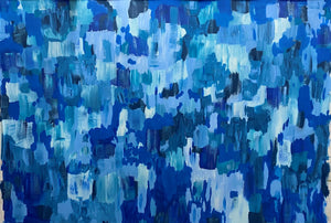 Just Start with the Blue; 7 ft x 10 ft
