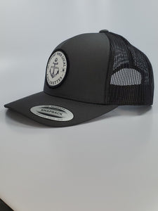 New!!! Support your Local Anglerettes Charcoal Round Bill Hat