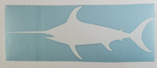 large swordfish Decal