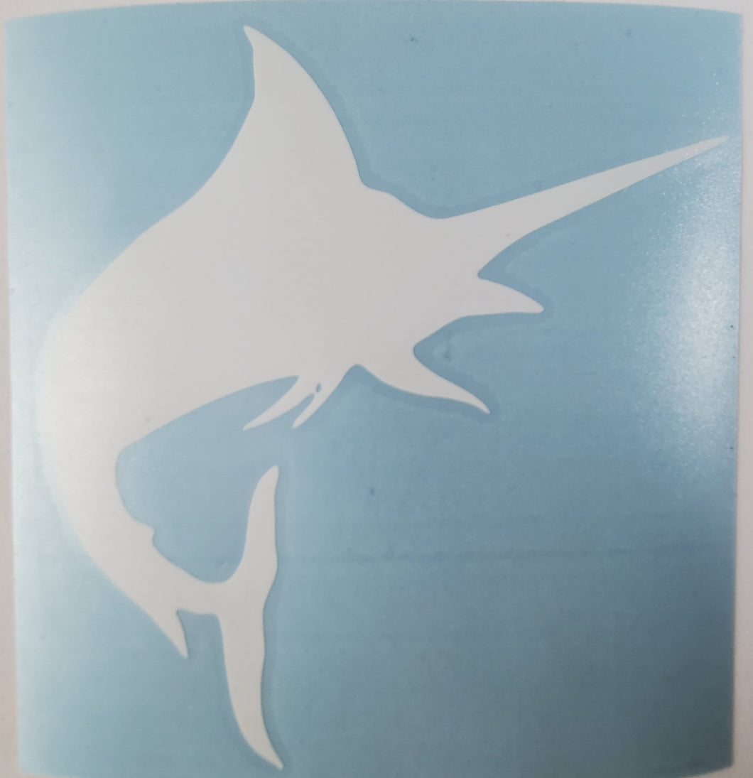 Med swordfish Decal