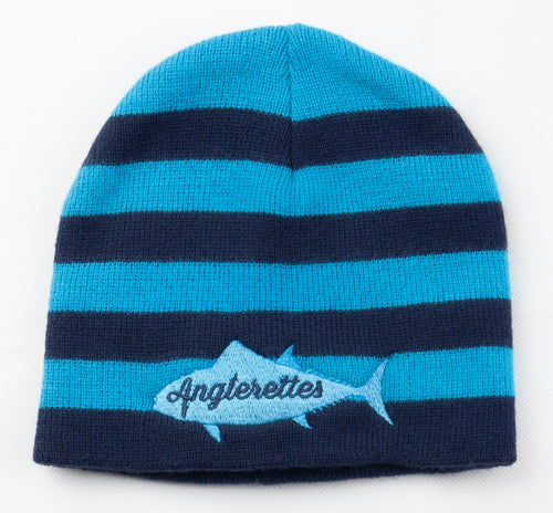 Blue and Navy Blue Beanie