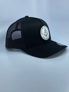 New!!! Support your Local Anglerettes Black Round Bill Hat