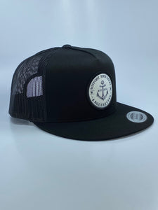 New!!! Support your Local Anglerettes Black Flat Bill Hat