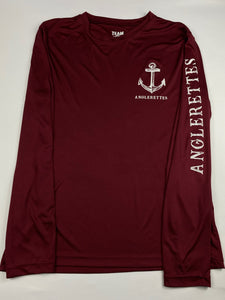 NEW Maroon UV!!! Support Your Local Anglerettes