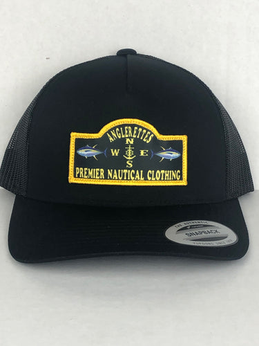 Yellowfin Patch Round Bill Hat