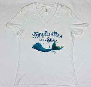 Anglerettes Of The Sea V-Neck