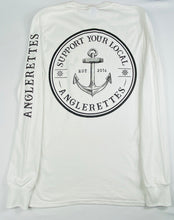 Load image into Gallery viewer, NEW!! Support Your Local Anglerettes White Long Sleeve