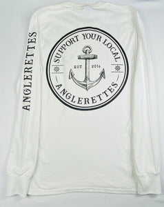 NEW!! Support Your Local Anglerettes White Long Sleeve