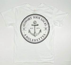 NEW!! Support Your Local Anglerettes White
