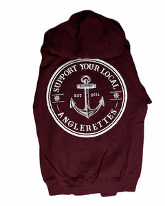 New Support Your Local Anglerettes Hoodie