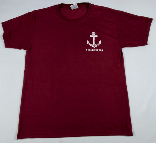 NEW!! Support Your Local Anglerettes Maroon