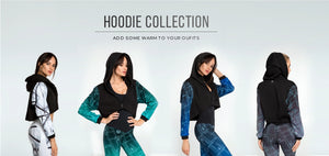 Hoodie Activewear Collection Designed for Fitness Australia