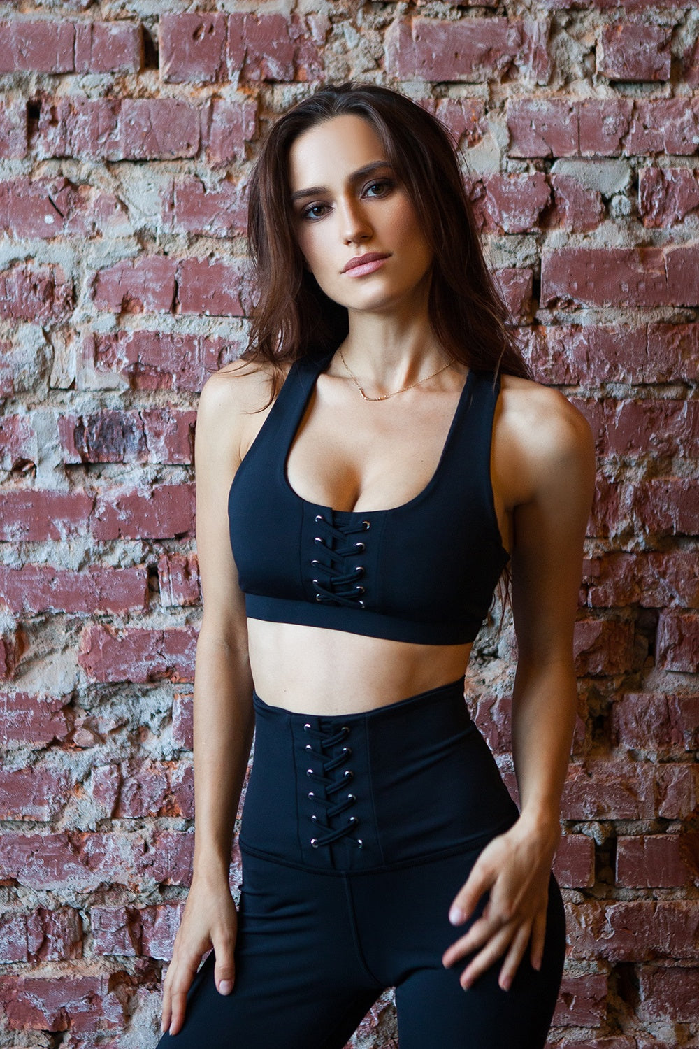 Bra Black Corset Designed for Fitness Australia