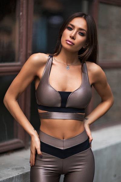 Bra Disco Nude Designed for Fitness Australia
