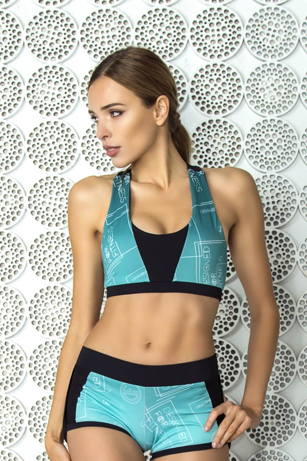 Bra Gradient Mint Designed for Fitness Australia