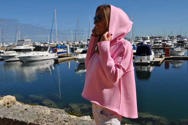 Fleece Hoodie FIT BIRD Fairy Floss