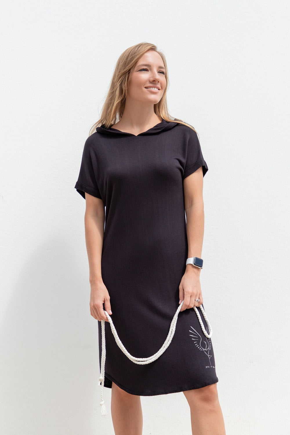 Tunic Dress FIT BIRD Black