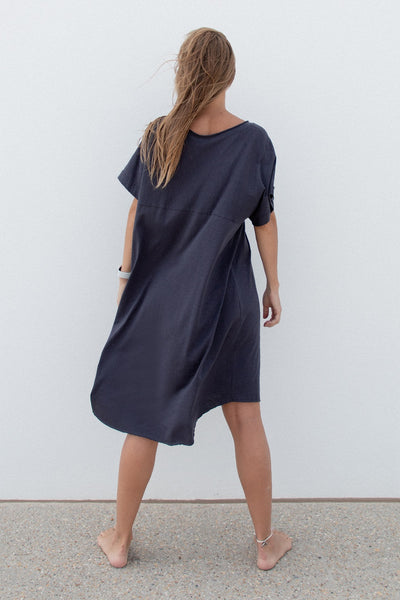 Oversized Dress Charcoal