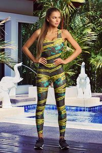 Jumpsuit LIMITED Caution Designed for Fitness Australia