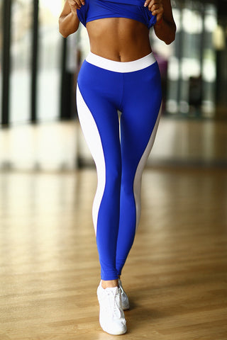 Leggings Basic Blue Designed for Fitness Australia