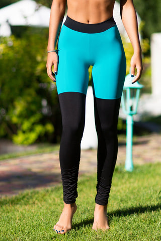 Leggings Yoga Tender Emerald Designed for Fitness Australia