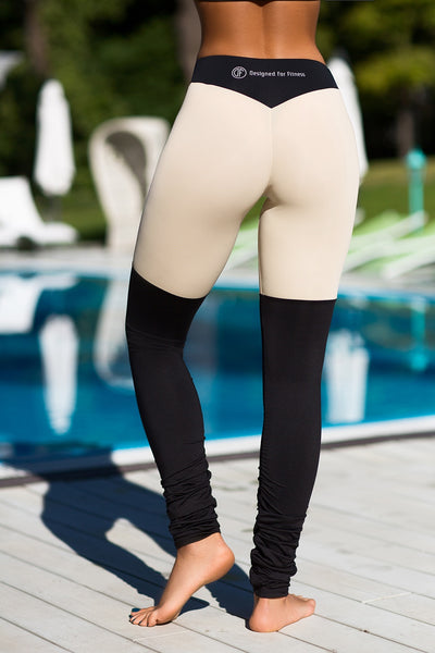 Leggings Yoga Tender Nude Designed for Fitness Australia back