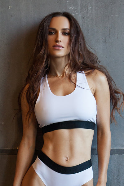 Sport Basic Top White Designed for Fitness Australia