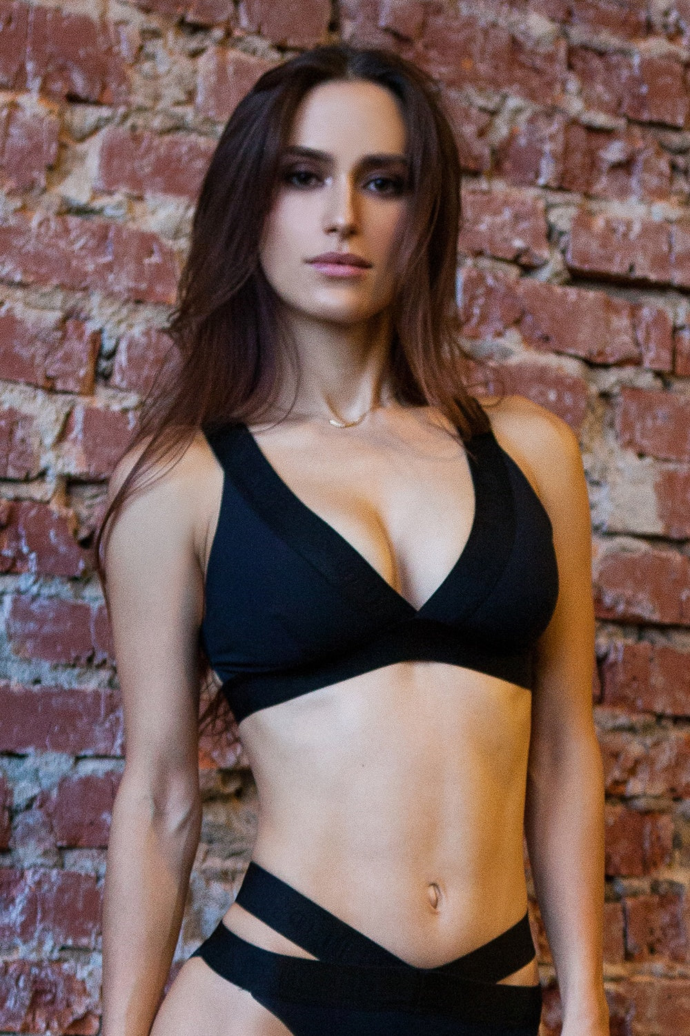Sport Bra Basic Black Designed for Fitness Australia