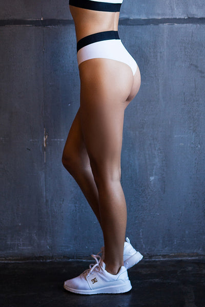 Sport Shorts White Designed for Fitness Australia side