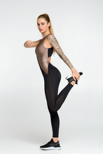 Jumpsuit Disco Nude