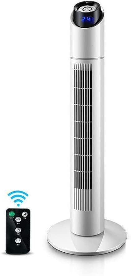 Oscillating Tower Fan, with Remote Control Cooling Fan, Mute 3 Speeds, Suitable for Home/Family, School, Office Fan