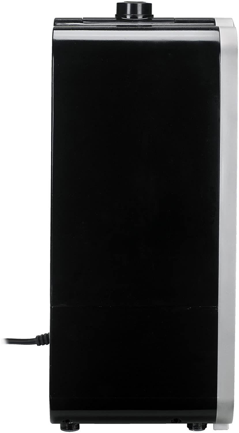 Pure Guardian H8000B Ultrasonic Warm and Cool Mist Humidifier, Extension Wand, 120 Hrs. Run Time, 2 Gal. Tank , 500 Sq. Ft. Coverage, Large Rooms, Quiet, Filter Free, Treated Tank Resists Mold